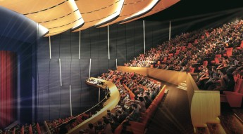 Another welcome venue for the performing arts in metro for Another name for balcony