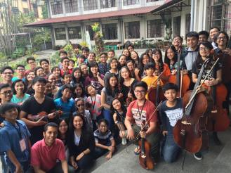 The students of the MSO Music Academy in Baguio City. A well-received culminating concert.